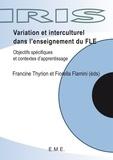 Francine Thyrion - Variations et interculturel dans l'enseignement du FLE.