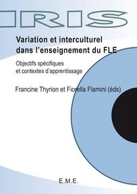 Francine Thyrion - Variations et interculturel dans l'enseignement du FLE.