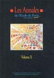 Francis Ampe - Les Annales N° 10 de l'Ecole de Paris du management - Travaux de l'année 2003.