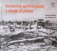 Francis Anfray - Recherches archéologiques à Adoulis (Erythrée).