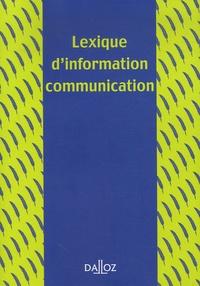 Francis Balle et Pierre Albert - Lexique d'information communication.