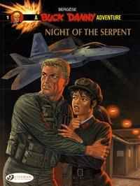 Francis Bergèse et Frédéric Bergèse - A Buck Danny Adventure Tome 1 : Night of the Serpent.