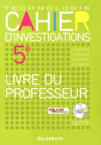 Cahier dinvestigations Technologie 5e - Livre du professeur.pdf