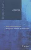 Francis Bonnet et Thomas Lescot - Analgésie et sédation en réanimation.