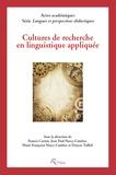 Francis Carton - Cultures de recherche en linguistique appliquée.