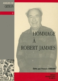 Francis Cerdan - Hommage à Robert Jammes.