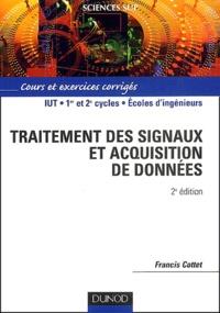 Deedr.fr Traitement des signaux et acquisition de données. Cours et exercices corrigés, 2ème édition Image