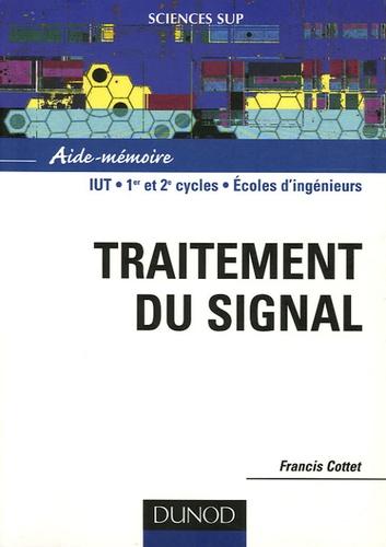 Francis Cottet - Traitement du signal - Aide-mémoire.