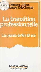 Francis de Chassey et Jeanne Lamoure-Rontopoulou - La transition professionnelle - Les jeunes de 16 à 18 ans.