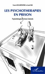 Deedr.fr Les psychothérapies en prison - Psychothérapies et actes criminels Image