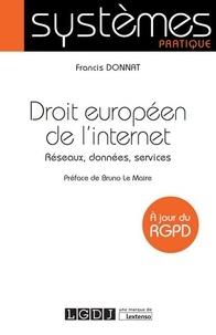 Droit européen de linternet - Réseaux, données, services.pdf