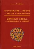 Francis Favereau - Dictionnaire de poche du breton contemporain.