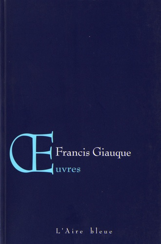 Francis Giauque - Oeuvres.