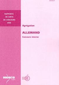 Francis Goullier - Agrégation Allemand - Concours interne.