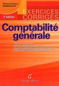 Francis Grandguillot et Béatrice Grandguillot - Comptabilité générale.