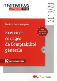 Francis Grandguillot et Béatrice Grandguillot - Exercices corrigés de comptabilité générale - 82 exercices corrigés.
