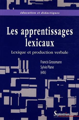Lexique et production verbale. Vers une meilleure intégration des apprentissages lexicaux