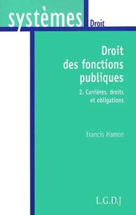 Droit des fonctions publiques. Tome 2, Carrières, droits et obligations.pdf