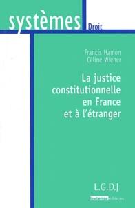 Francis Hamon - La justice constitutionnelle en France et à l'étranger.