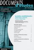 Francis Hamon et Céline Wiener - La justice constitutionnelle - Présentation générale, France, Etats-Unis.