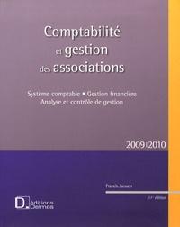 Francis Jaouen - Comptabilité et gestion des associations - Système comptable, gestion financière, analyse et contrôle de gestion.