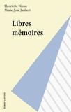 Francis Jaubert et  Epicure - Libres mémoires.