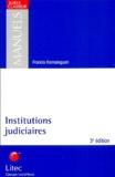 Francis Kernaleguen - Institutions judiciaires.