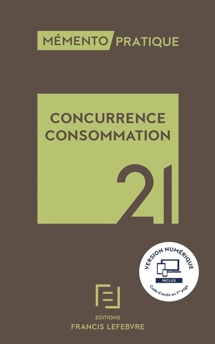 Concurrence consommation  Edition 2021