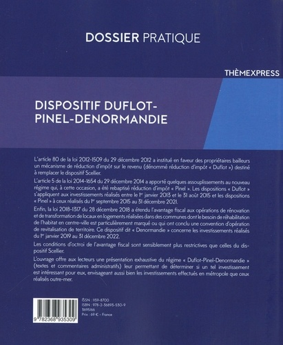 Dispositif Duflot-Pinel-Denormandie