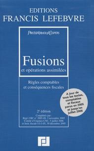 Fusions et opérations assimilées - Règles comptables et conséquences fiscales.pdf