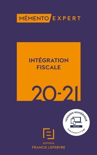 Intégration fiscale  Edition 2020-2021