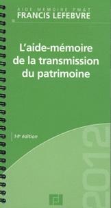 LAide-mémoire de la transmission du patrimoine.pdf