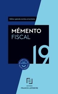 Francis Lefebvre - Mémento fiscal - Edition spéciale rentrée universitaire.