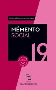 Francis Lefebvre - Mémento social - Edition spéciale rentrée universitaire.