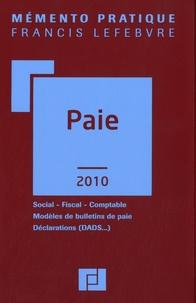 Francis Lefebvre - Paie - Social, Fiscal, Comptable, Modèles de bulletins de paie, Déclarations (DADS...).