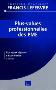 Deedr.fr Plus-values professionnelles des PME - Nouveaux régimes d'exonération Image