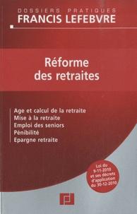 Francis Lefebvre - Réforme des retraites.