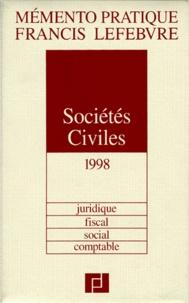 Socictés civiles 1998 -  Francis Lefebvre pdf epub