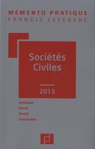 Sociétés civiles -  Francis Lefebvre pdf epub