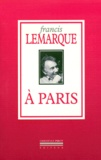 Francis Lemarque - À Paris.