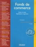 Francis Lemeunier - Fonds de commerce - Achat et vente, exploitation et gérance.