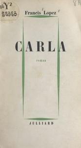 Francis Lopez - Carla.