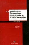 Francis Mallol - La gestion des collectivités territoriales et le droit européen.