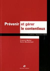 Francis Mallol - Prévenir et gérer le contentieux.