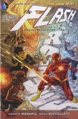 Francis Manapul - The Flash - Volume 2 : Rogues Revolution.
