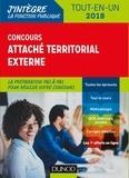 Francis Pian et Christine Bouché - Concours attaché territorial externe - Tout-en-un.