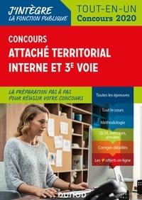 Francis Pian et Corinne Pelletier - Concours Attaché territorial Interne et 3e voie - Tout-en-un - 2020.