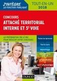 Francis Pian et Florence Ritz-Caignard - Concours Attaché territorial interne et 3e voie - Concours interne et 3e voie - Tout-en-un.