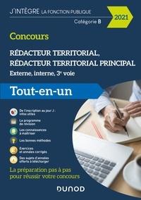 Francis Pian et Dominique Pipard-Thavez - Concours Rédacteur territorial - 2021 - - Externe, interne et 3e voie - Tout en un.