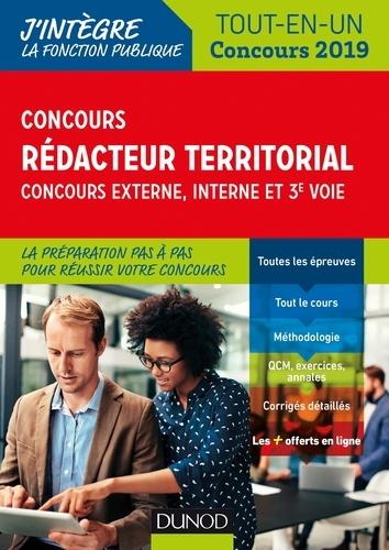 Concours Rédacteur territorial. Externe, interne et 3e voie. - Format PDF - 9782100786930 - 14,99 €